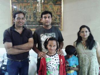 Honorable guest Mr. & Mrs Joshi