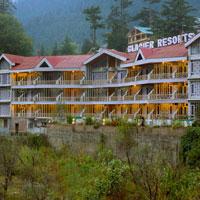 Glacier Hotel Front Look
