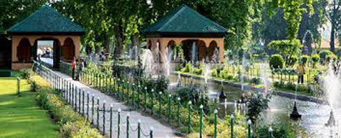 Book splendors of kashmir tour 9 days 8 nights tour Mughal garden booking