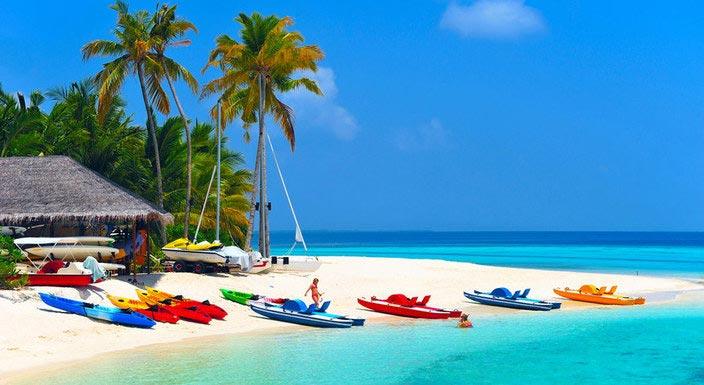 Maldives Resort Day Tour
