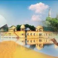 Taj Mahal with Golden Triangle Tour