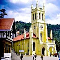 church shimla
