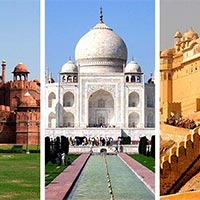 3 Nights 4 Days - Delhi-Agra-Jaipur - Golden Triangle Tour