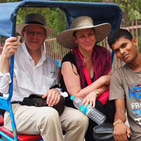 Old Delhi Rickshaw Ride Tour