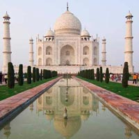 Taj Mahal Tour with Beach