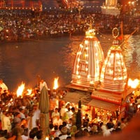 Golden Triangle with Haridwar Tour