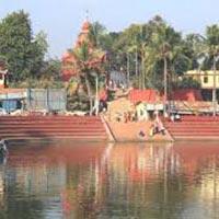 Lake view of Tripura Sundari Temple