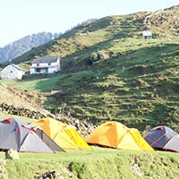 Bir Billing camping