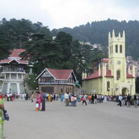 Best of Shimla - Manali by car Ex. Delhi Honeymoon Package