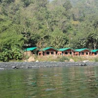 Jungle Cottage camping with 16 kms rafting Tour
