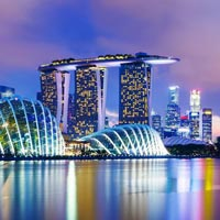 Singapore with 3 night Cruise Tour