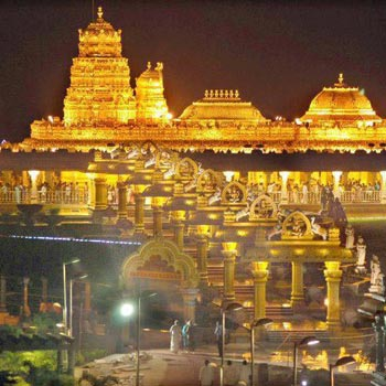 Tirupati Balaji Darshan SPl VIP Package from Delhi by Flight