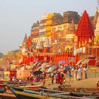 Varanasi - Ghat view