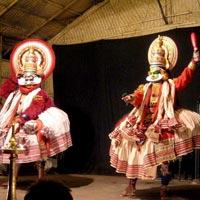 Kerala - Kathakali traditional dance