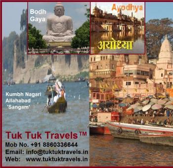 Varanasi  Ayodhya - Allahabad tour
