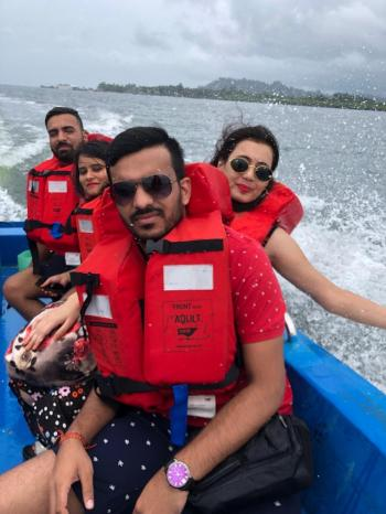 Andaman speed boat ride
