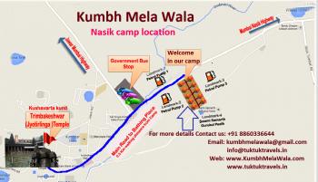 Kumbh Mela Nashik camp location