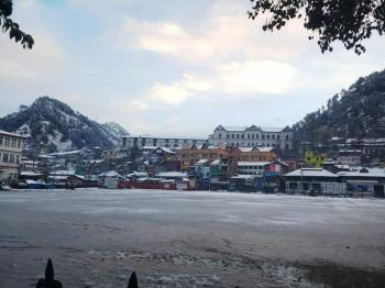 Chamba HP in Snowfall