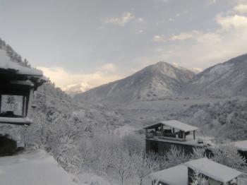 Winter view manali