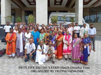 Panch Dwarka Group Organized By Outing Designer