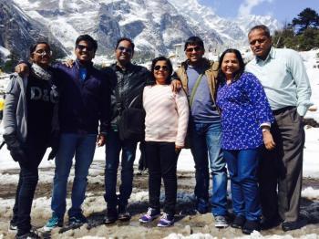 Mr Milind, Sikkim trip