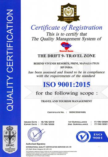 ISO Certification !
