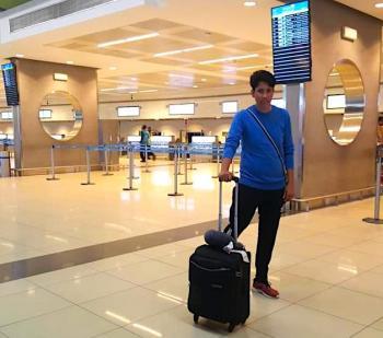 Abu Dhabi Airport !