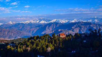 A Pir Pinjal Range Of Himalayas-India