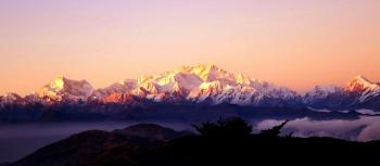 Kanchenjunga View From Gnathang, Gangtok