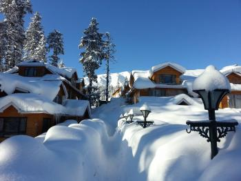 Gulmarg in Mid. Winter