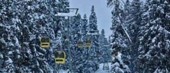 Gulmarg Gondola in winter