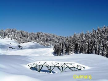 Gulmarg Gulf in winter