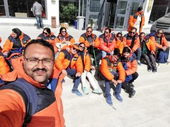 Kailash Mansarovar Yatra Group 2018