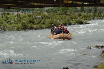 River Rafting in Srinagar