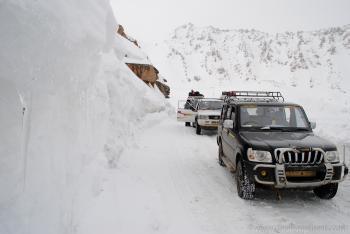 Zojila Pass Kashmir
