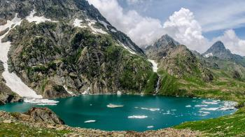 GADSAR LAKE GANDERBAL KASHMIR