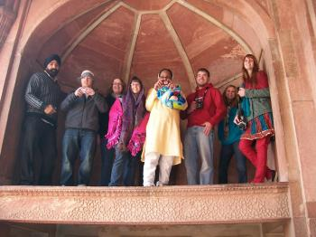 The Agra Fort - Agra