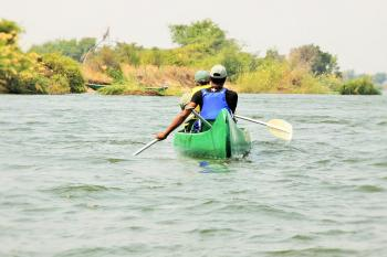 Canoe Safari at Kiambi in Lower Zambezi