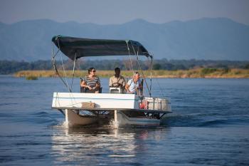 Boat Cruise in Lower Zambezi National Park