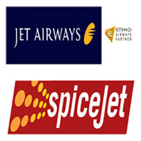 JET AIRWAYS - SpiceJet