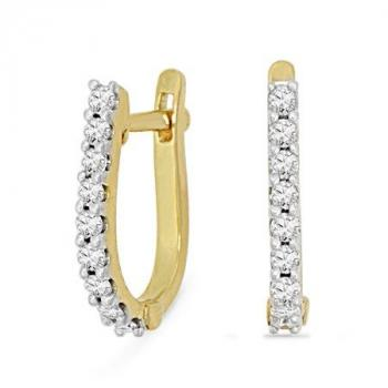 Real Diamond Earring