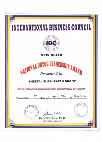 national uyog leadership award cert