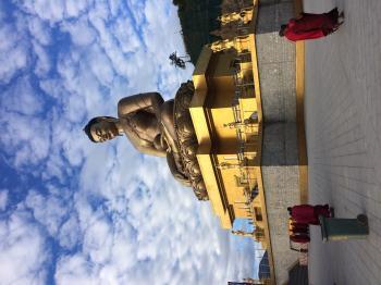 Vajra Throne Buddha
