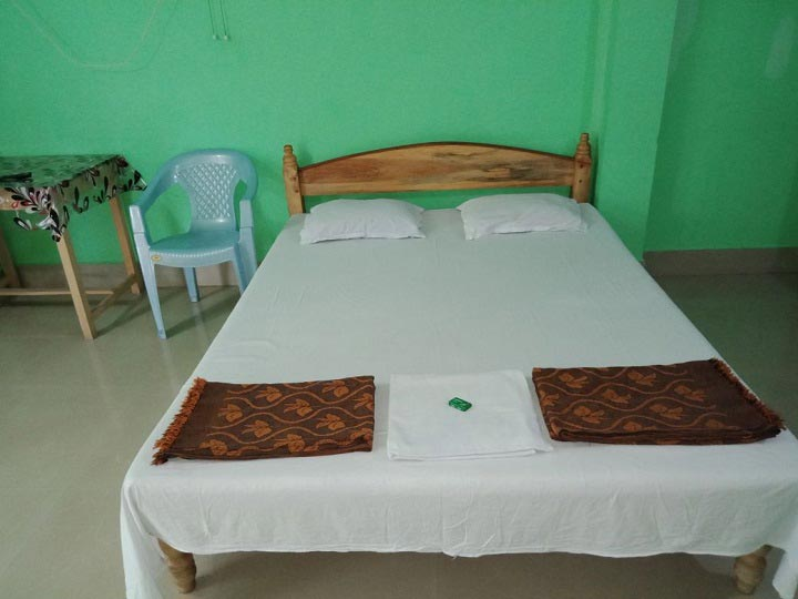 4 Bedded Non AC Room