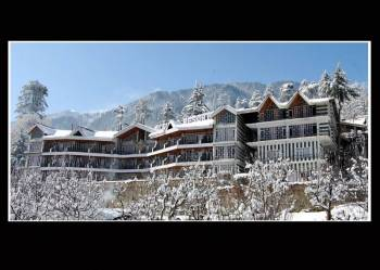 Glacier Resort in winters.