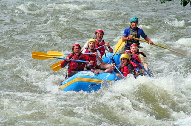 River Rafting and Camping Package