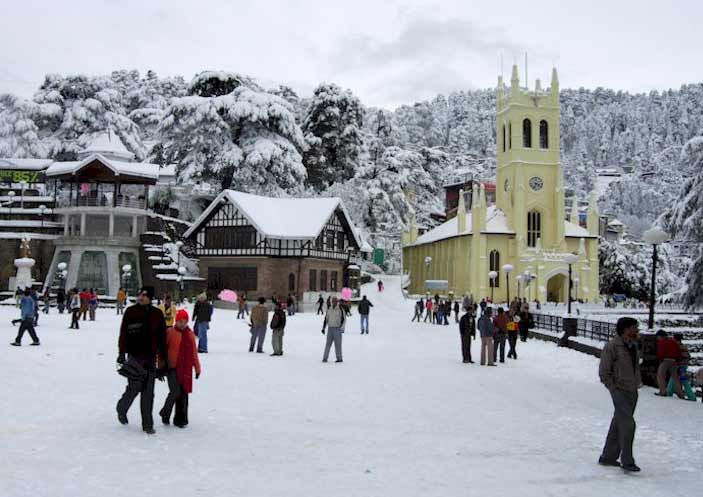 New Delhi - Shimla - Manali - Chandigarh Tour