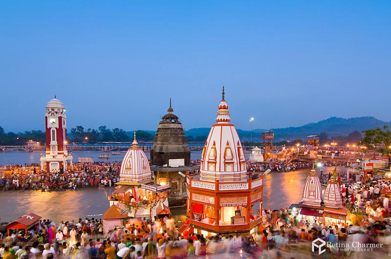 Evening Ganga -Aarti-At-HarKiPauri-Ghat-Haridwar