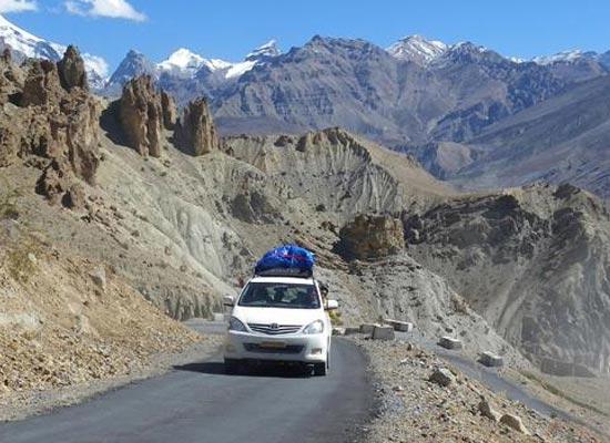 Leh To Srinagar Tour 5N/6D