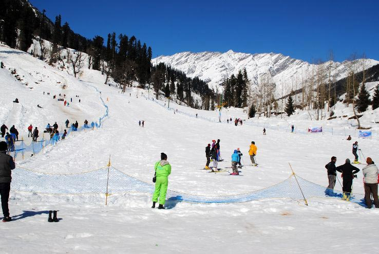 4Nights and 5 Days - Off season Manali Dlx volvo Package